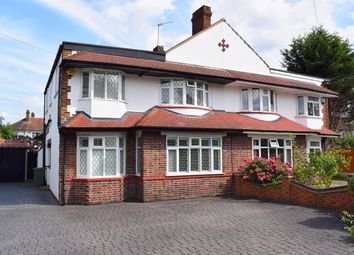 Thumbnail 5 bed semi-detached house for sale in Braundton Avenue, Sidcup, Kent