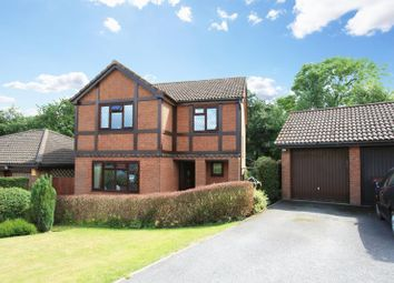 Thumbnail 4 bed detached house for sale in Mill Farm Drive, Telford