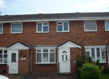 Thumbnail 2 bed town house to rent in Fullmoor Close, Penkridge, Staffs