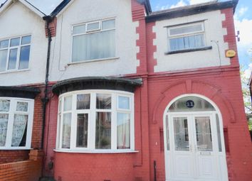 Thumbnail 4 bed semi-detached house for sale in Barlow Road, Stretford, Manchester