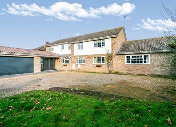 Thumbnail 6 bed detached house for sale in Wisbech Road, March