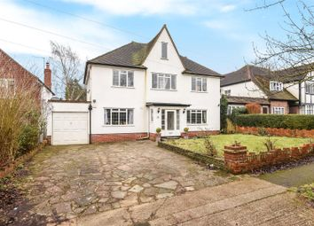 Thumbnail 4 bed detached house for sale in Downs Wood, Epsom