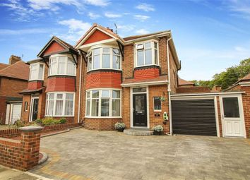 Thumbnail 3 bed semi-detached house for sale in Otterburn Road, North Shields, Tyne And Wear