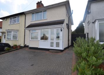 Thumbnail 3 bedroom semi-detached house for sale in Pendeen Road, Yardley Wood, Birmingham