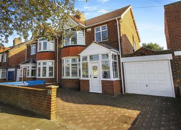 Thumbnail 3 bed semi-detached house for sale in Gorsedene Road, Whitley Bay, Tyne And Wear