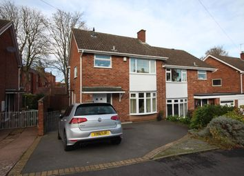 Thumbnail 3 bed semi-detached house for sale in Ashdown Drive, Wordsley, Stourbridge
