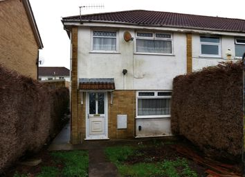 Thumbnail 3 bed end terrace house for sale in Kidwelly Grove, Castle Park, Merthyr Tydfil