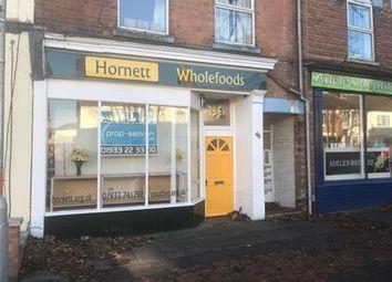 Thumbnail Retail premises to let in 48 Midland Road, Wellingborough, Northamptonshire