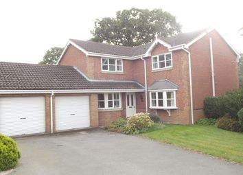 Thumbnail 4 bed detached house to rent in Tredegar Drive, Oakwood, Derby