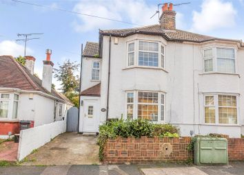 Thumbnail 3 bed semi-detached house for sale in Hollybush Road, Gravesend, Kent
