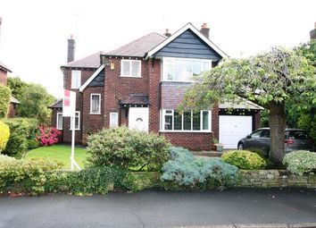 Thumbnail 3 bed detached house for sale in Elmsway, Bramhall, Cheshire