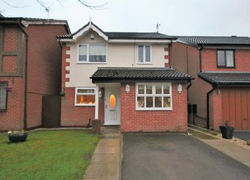 Thumbnail 3 bed detached house for sale in Donnington Close, Leigh