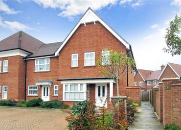 Thumbnail 3 bed end terrace house for sale in Highwood Crescent, Horsham, West Sussex