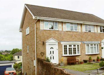 Thumbnail 3 bedroom semi-detached house for sale in Down Leaze, Cockett, Swansea