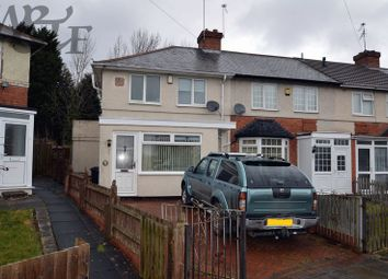 Thumbnail 2 bed terraced house for sale in Belvedere Road, Erdington, Birmingham