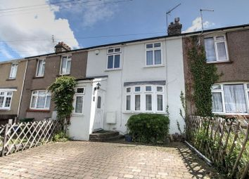 Thumbnail 3 bed terraced house for sale in The Crescent, Greenhithe
