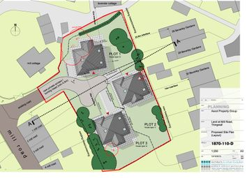 Thumbnail Land for sale in Mill Road, Pensby, Wirral