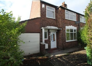 Thumbnail 3 bed semi-detached house for sale in Turncroft Lane, Stockport