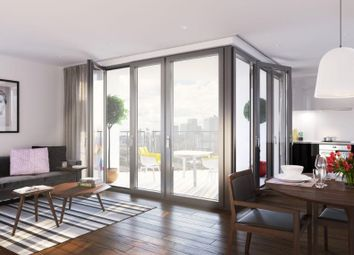 Thumbnail 3 bed flat for sale in Brand New Development, Upton Park, Eastham, London