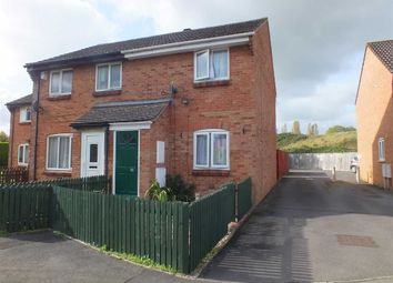 Thumbnail 2 bed end terrace house for sale in Phipps Close, Westbury, Wiltshire