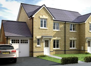 Thumbnail 3 bed semi-detached house for sale in The Gileston, Padfield, Tonyrefail, Rhondda
