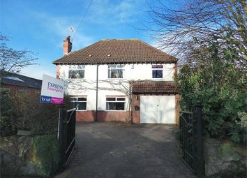 Thumbnail 4 bedroom detached house for sale in Shirebrook, Shirebrook, Mansfield, Derbyshire