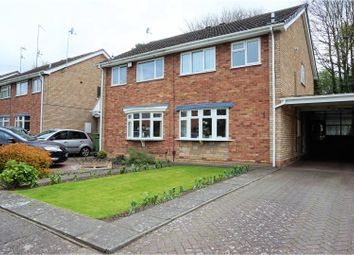 Thumbnail 3 bedroom semi-detached house for sale in Corve Gardens, Tettenhall, Wolverhampton