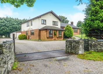 Thumbnail 4 bedroom detached house for sale in Brynford, Holywell, Flintshire