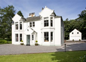 Thumbnail 5 bed detached house for sale in Wallace Hall & Cottage, Auldgirth, Dumfries