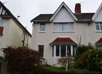 Thumbnail 3 bed semi-detached house for sale in Eversley Road, Sketty, Swansea