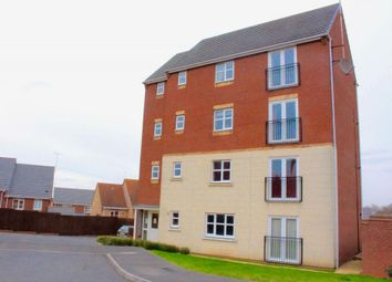 Thumbnail 2 bed flat to rent in Mundesley Road, Hamilton, Leicester