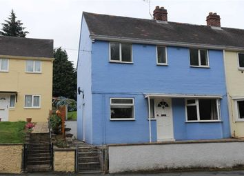 Thumbnail 3 bed end terrace house for sale in Min Y Ddol, Penparcau, Aberystwyth