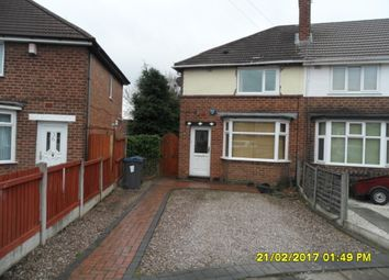Thumbnail 2 bed semi-detached house to rent in Whitburn Avenue, Great Barr, Birmingham