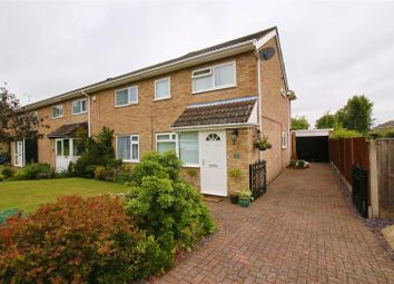 Thumbnail 3 bed end terrace house for sale in Heyford Leys, Hillside, Rugby
