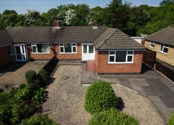 Thumbnail 2 bed bungalow for sale in Brixham Drive, Wigston, Leicester