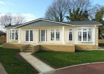 Thumbnail 2 bed mobile/park home for sale in Mandalay Park, Whittlesey, Peterborough