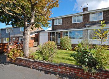 Thumbnail 3 bed semi-detached house for sale in Alnwick Road, Newton Hall, Durham