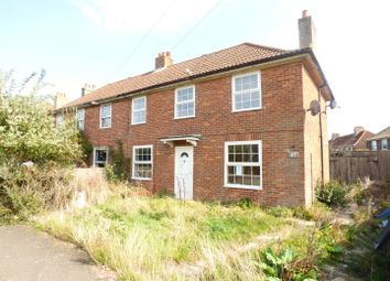 Thumbnail 3 bed semi-detached house for sale in St. Johns Road, Elvington, Dover