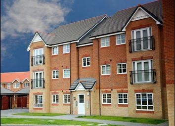 Thumbnail 2 bed flat to rent in Lamberton Drive, Brymbo, Wrexham