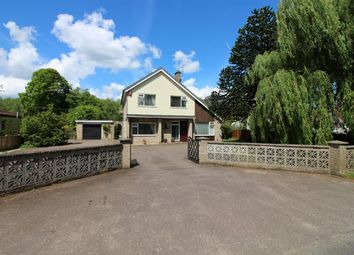 Thumbnail 4 bed detached house for sale in Tasburgh Road, Saxlingham Thorpe, Norwich