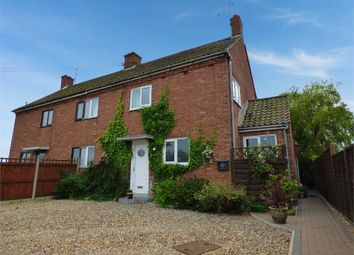 Thumbnail 3 bed semi-detached house for sale in Stoven, Beccles, Suffolk