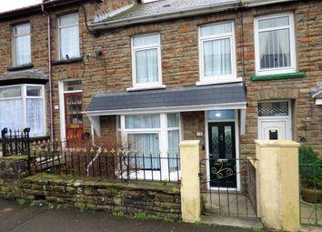 Thumbnail 3 bed terraced house for sale in Oakfield Terrace, Nantymoel, Bridgend