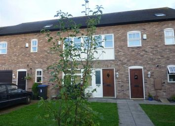 Thumbnail 3 bedroom town house to rent in Ivens Close, Barwell, Leicester