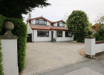 Thumbnail 4 bed detached bungalow for sale in Station Road, New Longton, Preston