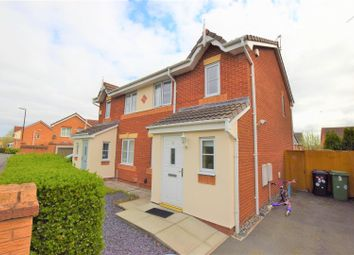 Thumbnail 3 bed semi-detached house for sale in Benbow Close, Prenton