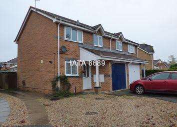 Thumbnail 3 bedroom semi-detached house to rent in Bulrush Close, Scarning, Dereham