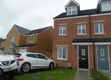 Thumbnail 3 bed town house for sale in Emily Fields, Birchgrove, Swansea