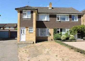 Thumbnail 3 bed semi-detached house for sale in Fullerton Way, Byfleet, Surrey