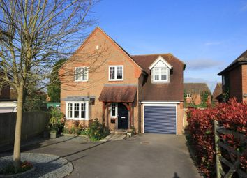 Thumbnail 4 bed detached house for sale in Churchway, Haddenham, Aylesbury