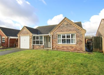 Thumbnail 3 bed bungalow for sale in Holmes Way, Wragby, Market Rasen, Lincolnshire